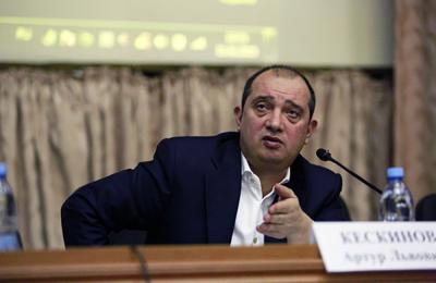 Артур Кескинов, генеральный директор Фонда капитального ремонта многоквартирных домов города Москвы