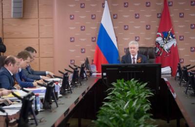 Мэр Москвы Сергей Собянин на заседании Президиума Правительства Москвы обсудил программу «Миллион деревьев»