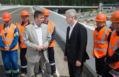 За время правления Сергея Собянина в Москве введено в эксплуатацию 75 новых эстакад