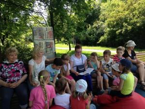 Викторина для юных жителей округа пройдет в парке «Садовники» в летнем читальном зале «Нескучное лето»