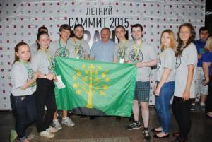 Алексей Челышев стал «гостем дня» на молодежном форуме «Грани будущего»