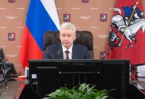 Мэр Москвы Сергей Собянин на заседании столичного Правительства
