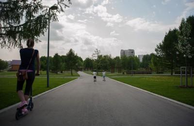 "Парк ""Садовники"" в районе Нагатино-Садовники"