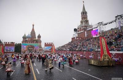 Праздничные мероприятия посвященные 868-летию Москвы посетили около 10 миллионов человек