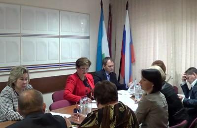 Председатель Совета муниципальных образований Москвы Владимир Дудочкин и ответственный секретарь Наталья Бледная провели встречу с главами муниципальных образований Южного округа