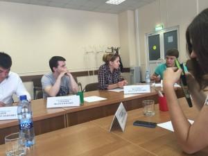 Очередное заседание молодежной палаты прошло в районе Нагатино-Садовники