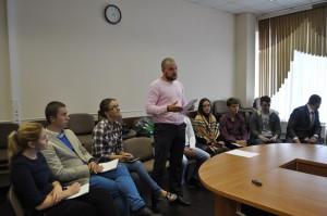 На прошедшем заседании Совета депутатов муниципального округа Нагатино-Садовники присутствовал актив молодёжной палаты района