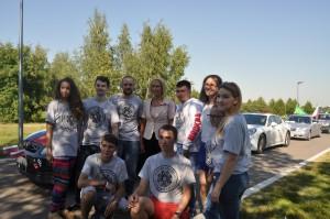 Борис Поткин с членами молодежной палаты