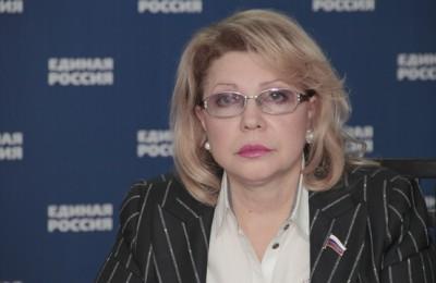 На фото депутат Елена Панина