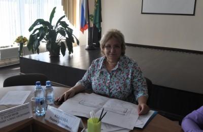 На фото Лидия Кладова