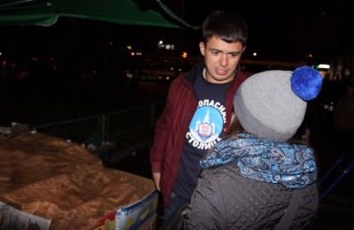 Очередные рейды по предупреждению правонарушений на 650 дворовых территориях города активисты «Безопасной столицы» провели 9 октября
