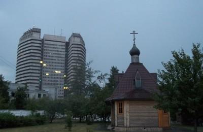 В настоящее время на данной территории располагается действующая часовня Дмитрия Донского