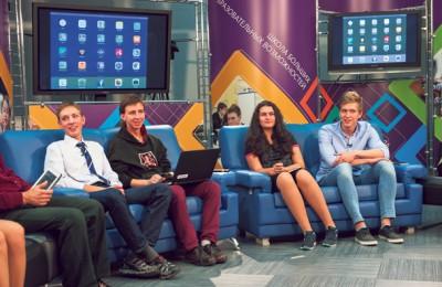 Старшеклассники Москвы придумали программы для компьютеров и приложения для смартфона