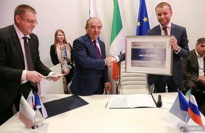 Москва подписала ряд соглашений с итальянскими компаниями