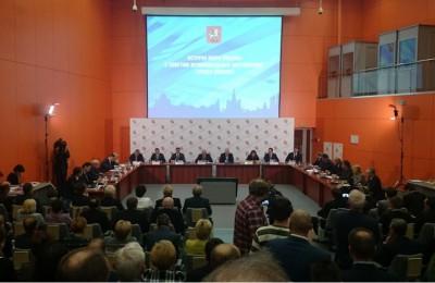 Встреча Совета муниципальных образований с мэром Москвы Сергеем Собянины прошла на ВДНХ