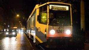 В связи с ремонтными работами на две ночи отменят трамвай №3