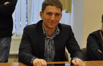 На фото депутат Андрей Варшавский