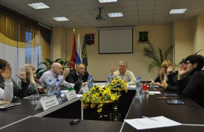 Очередное заседание Совета депутатов прошло в муниципальном округе Нагатино-Садовники