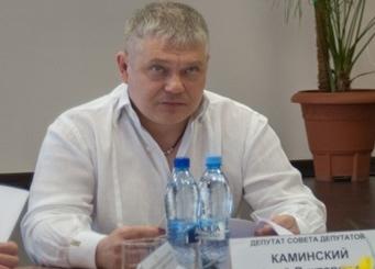 На фото Юрий Каминский