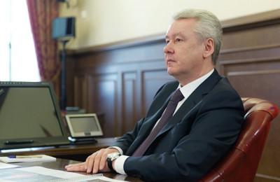 Мэр Москвы Сергей Собянин рассказал о новогоднем фестивале на заседании президиума