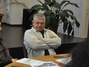 На фото депутат Юрий Каминский