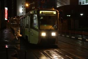 В связи с ремонтными работами несколько ночей не будет курсировать ночной маршрут трамвая №3