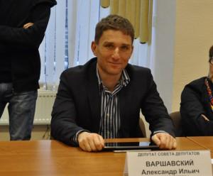 На фото Александр Варшавский