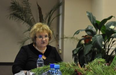 Глава муниципального округа Нагатино-Садовники Лидия Кладова рассказала о работе депутатов за 2015 год