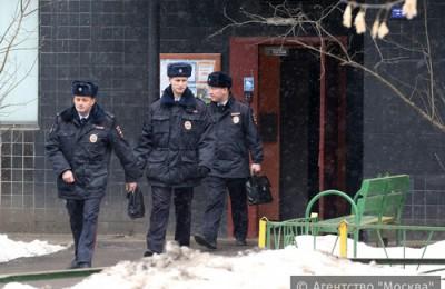 За безопасность и правопорядок в районе Нагатино-Садовники отвечают сотрудники 4 участковых пунктов полиции