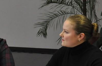 На фото глава админитсрации муниципального округа Марина Неженец