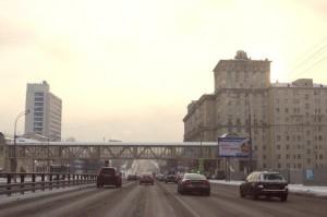 На фото Варшавское шоссе в ЮАО