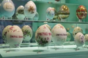 В Коломенском пройдет выставка фарфоровых яиц из коллекции Галины Ойстрах