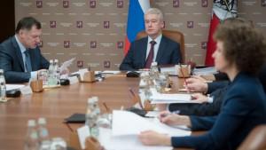 Мэр Москвы Сергей Собянин обсудил с коллегами реализацию программы «Безопасный город»