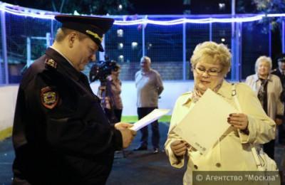 За безопасность и правопорядок в Нагатино-Садовниках отвечают сотрудники 4 участковых пунктов полиции