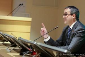 Председатель Мосгордумы Алексей Шапошников прочел для участников праймериз партии «Единая Россия» лекцию
