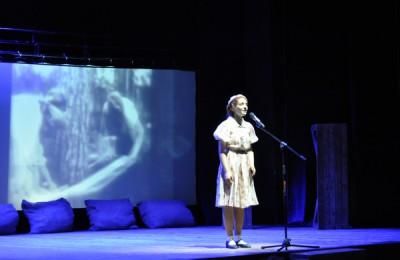 Для ветеранов в преддверии 9 Мая в Московском областном театре юного зрителя показали литературно-музыкальную композицию