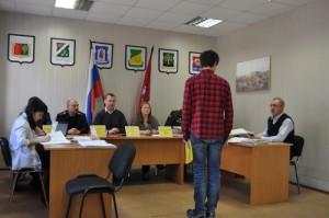 13 апреля состоялось заседание призывной комиссии района Нагатино-Садовники