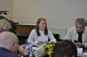 На фото глава администрации муниципального округа Нагатино-Садовники Марина Неженец