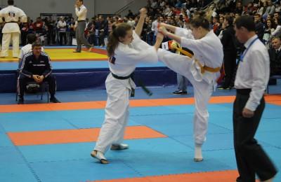 В ЮАО прошел Чемпионат России по киокусинкай