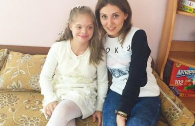 Одна из воспитанниц центра содействия семейному воспитанию «Вера. Надежда. Любовь» – Маша