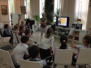 Школьникам прочитали несколько отрывков из романа Альберта Лиханова