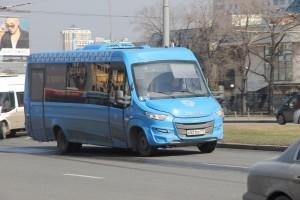 На смену привычным маршруткам приходят современные микроавтобусы