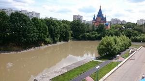 На фото Чертановский пруд в ЮАО