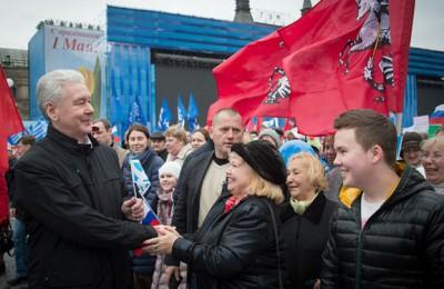 Сергей Собянин рассказал о первомайском шествии в Москве