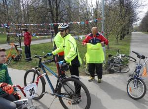 Открытие велосезона прошло в парке района Орехово-Борисово Северное