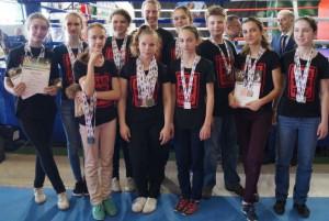 На фото спортсмены из района Орехово-Борисово Южное