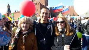 В шествии приняли участие глава администрации муниципального округа Нагатино-Садовники Марина Неженец