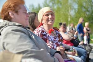 Мероприятие началось с приветствия ветеранов Великой Отечественной войны