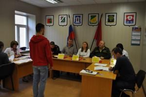 18 мая в объединённом военном комиссариате Даниловского района прошло заседание призывной комиссии района Нагатино-Садовники