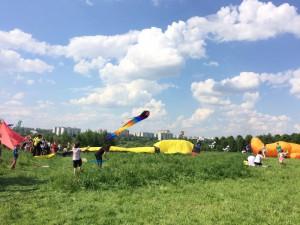 В ЮАО прошел фестиваль воздушных змеев